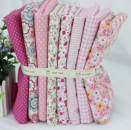 cotton-fabric-for-patchwork-and-crafts-warm-pink-series-small-piece-24x24cm-pink