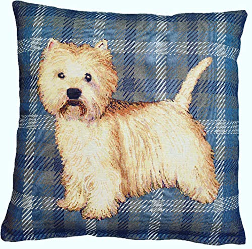 - Amber Textile West Highland White Terrier
