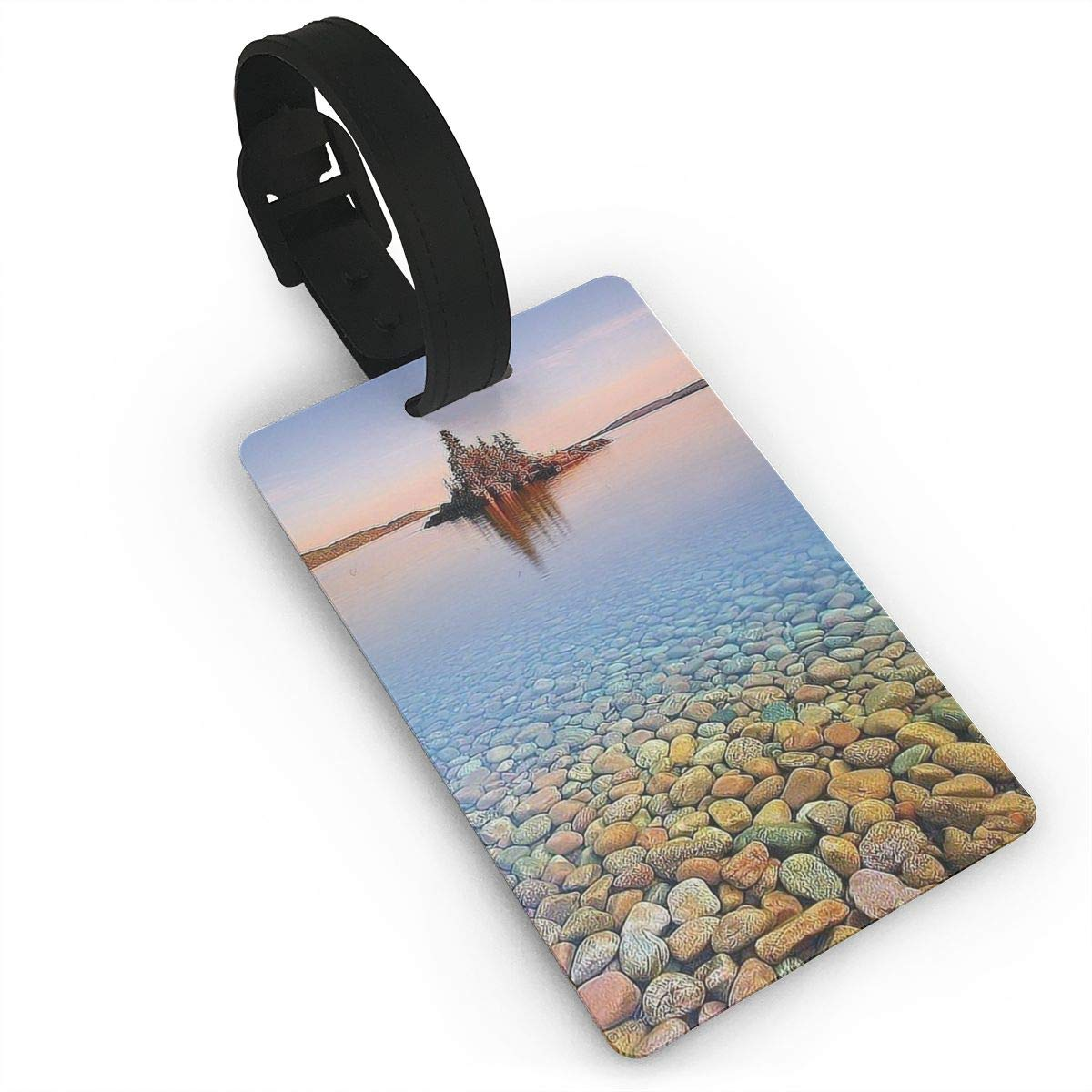 Cobblestone Baggage Tag For Suitcase Bag Accessories 2 Pack Luggage Tags