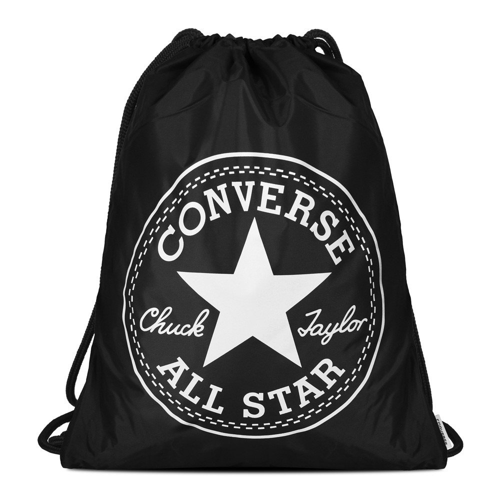 Converse Big Logo Cinch Unisex adulto, mochila, Negro 10005428