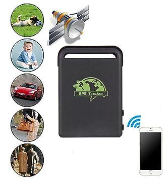 Lanxi® coche espía GPS/GSM/GPRS de seguimiento Localizador TK102B antirrobo vehículo tracker: Amazon.es: Electrónica