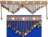 Handicrafted Diwali Dipawali Decor Traditional Rajasthani Jaipuri Cotton Door Toran Bandarwal Hanging