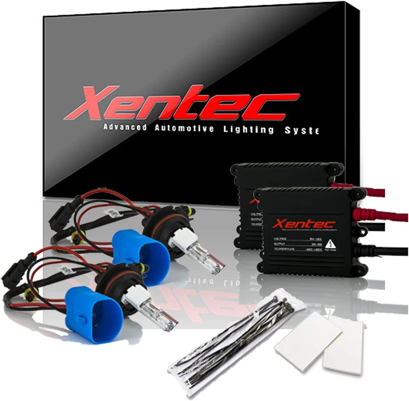 Xentec Xenon bulb H7 10000K x 1 pair bundle with 2 x 35W Digital Ballast Ocean Blue