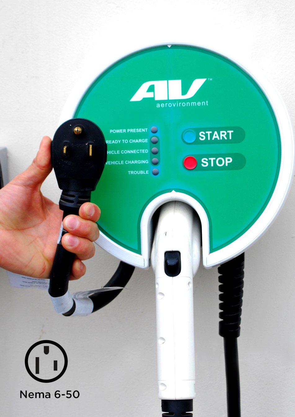 AeroVironment EV Charger: Plug-In, 25' cable, 32A, 7.7kW - SPECIAL PRICE PROMOTION! by AeroVironment (Image #3)