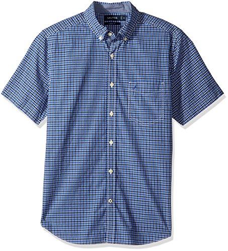 nautica-mens-short-sleeve-classic-fit-plaid-button-down-shirt-bright-cobalt-3x-big-tall