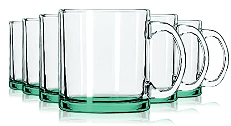 Amazon.com: Libbey Jumbo Taza de café anteojos con Colored ...