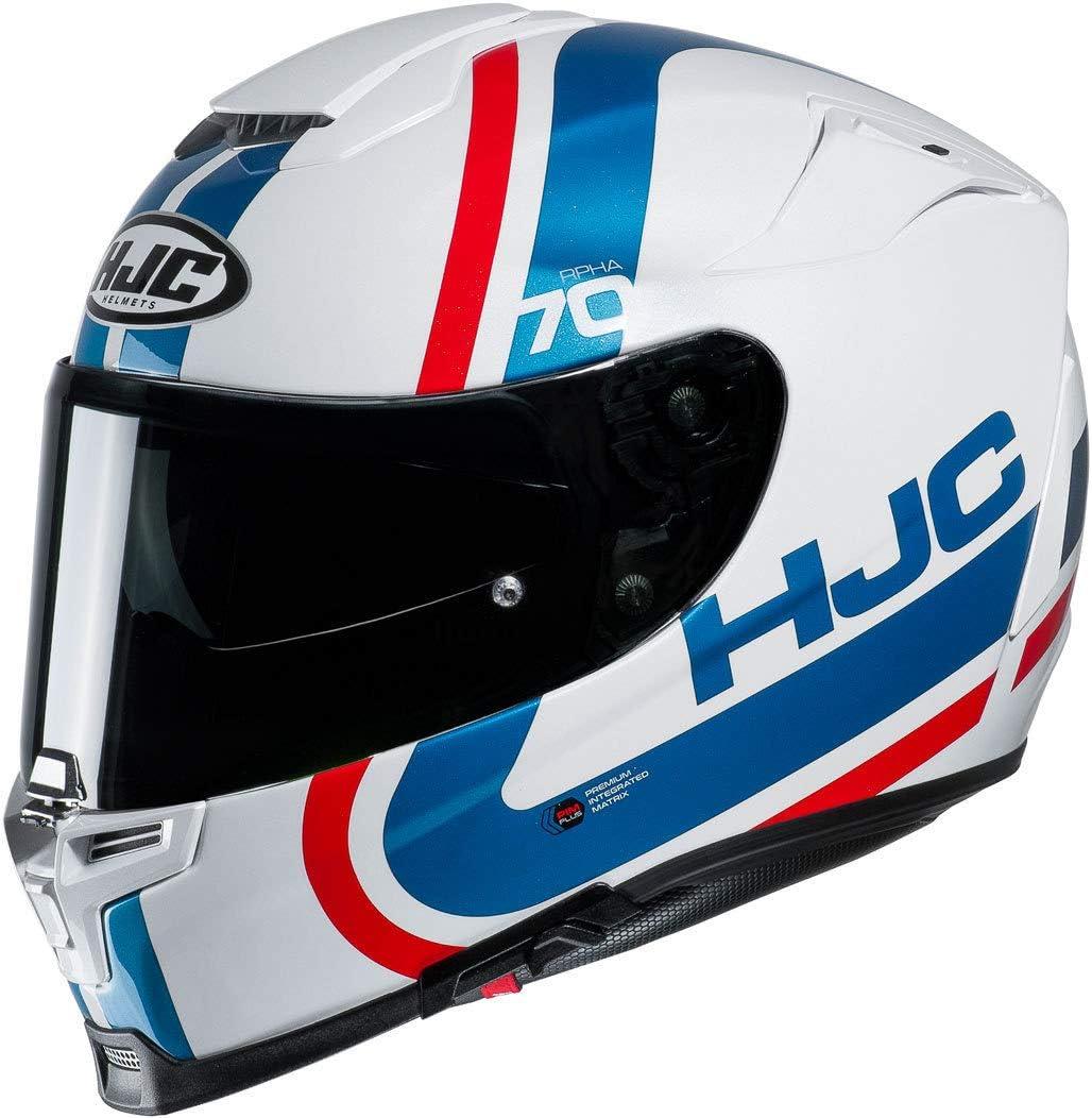 Hjc Rpha 70 Gaon Helm Weiß Rot Blau Xxs 52 53 Auto