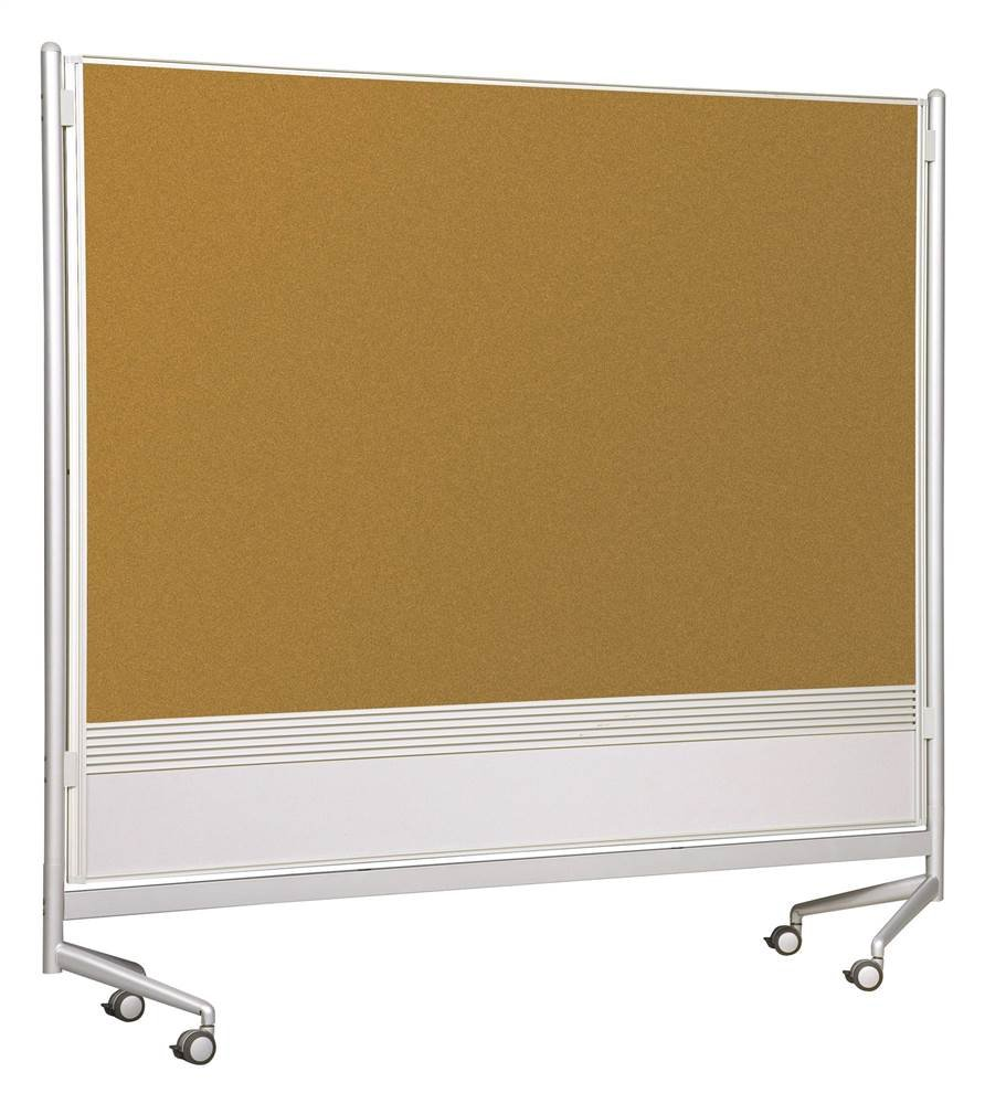 D.O.C. Partitions - Porcelain/Natural Cork (72 in. W x 72 in. H)
