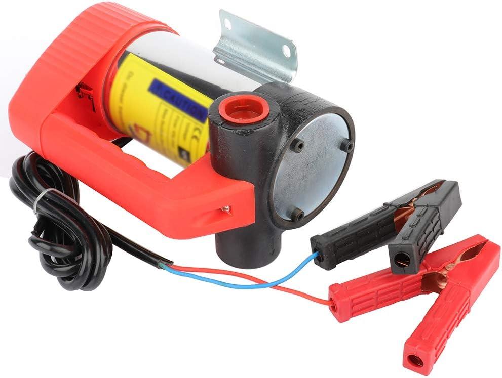 Automotive Oil Diesel Suction Pump 12V 175W Electric Self-Priming Pump US
