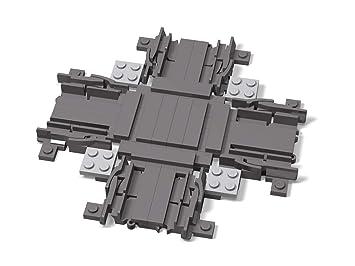 LEGO®Cruce de Vías ferroviarias ferrocarril: Amazon.es ...