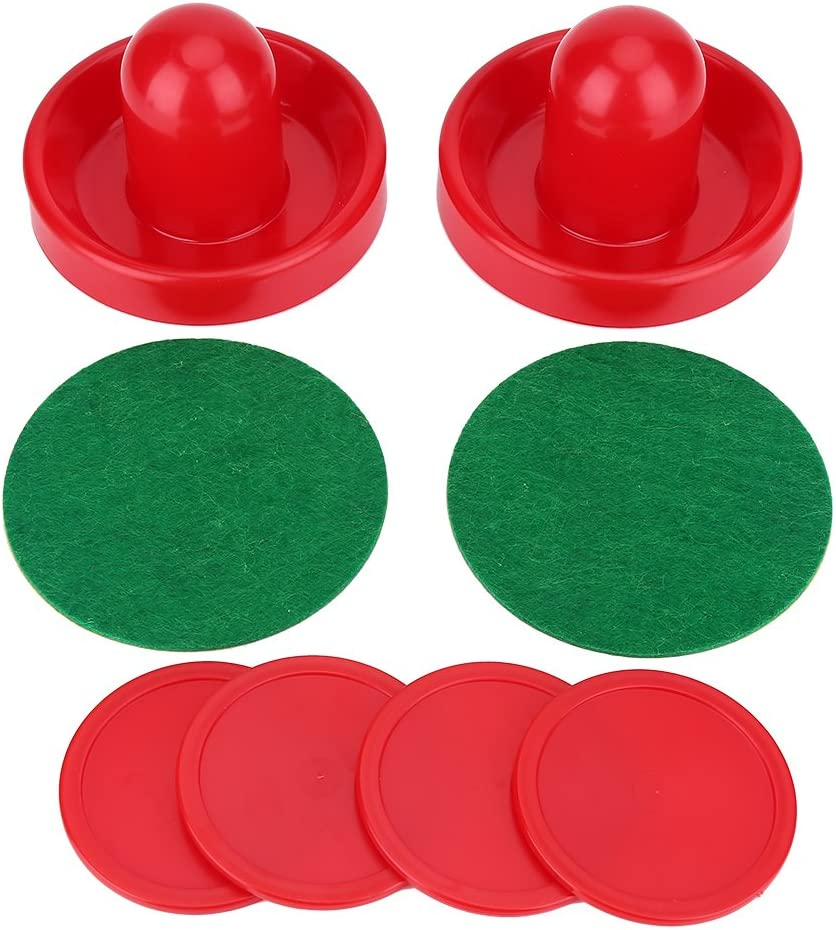 Zerone Hockey Pushers, Plastic Lightweight Air Hockey Goalies Ice Pushers Pucks Hockey Handles Ball Mallet Goalies Set Replacement for Tables Game : Sports & Outdoors