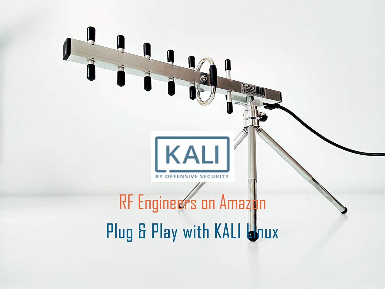 Alta potencia CC Plug and Play direccional WIFI Antena 802.11 N 2200 mW