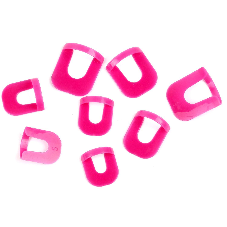 TRIXES 26 rosa Kunststoff Schablonen zum akkuraten Auftragen von ...