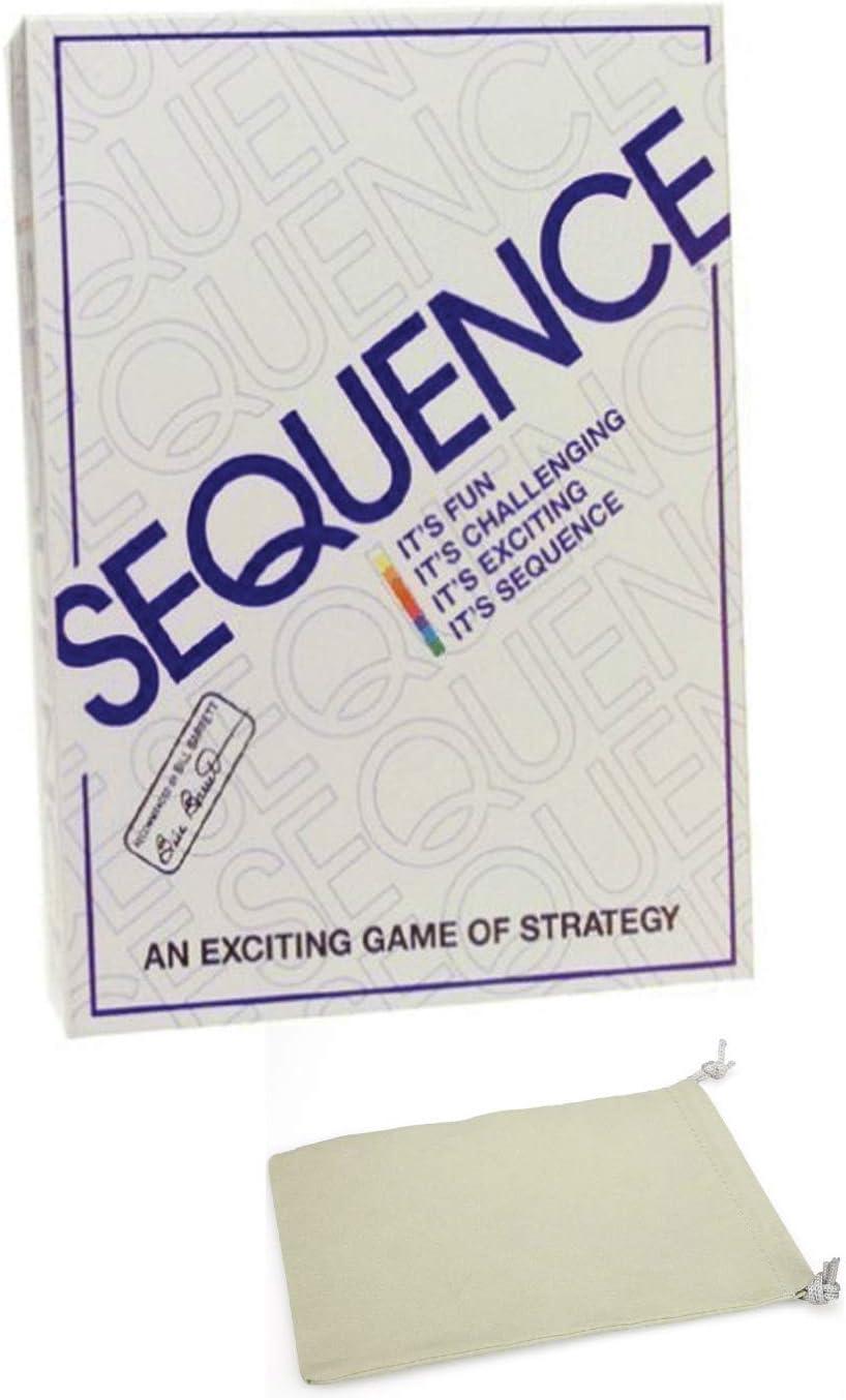 Juego de Mesa Sequence con Bolsa con cordón: Amazon.es: Juguetes y juegos