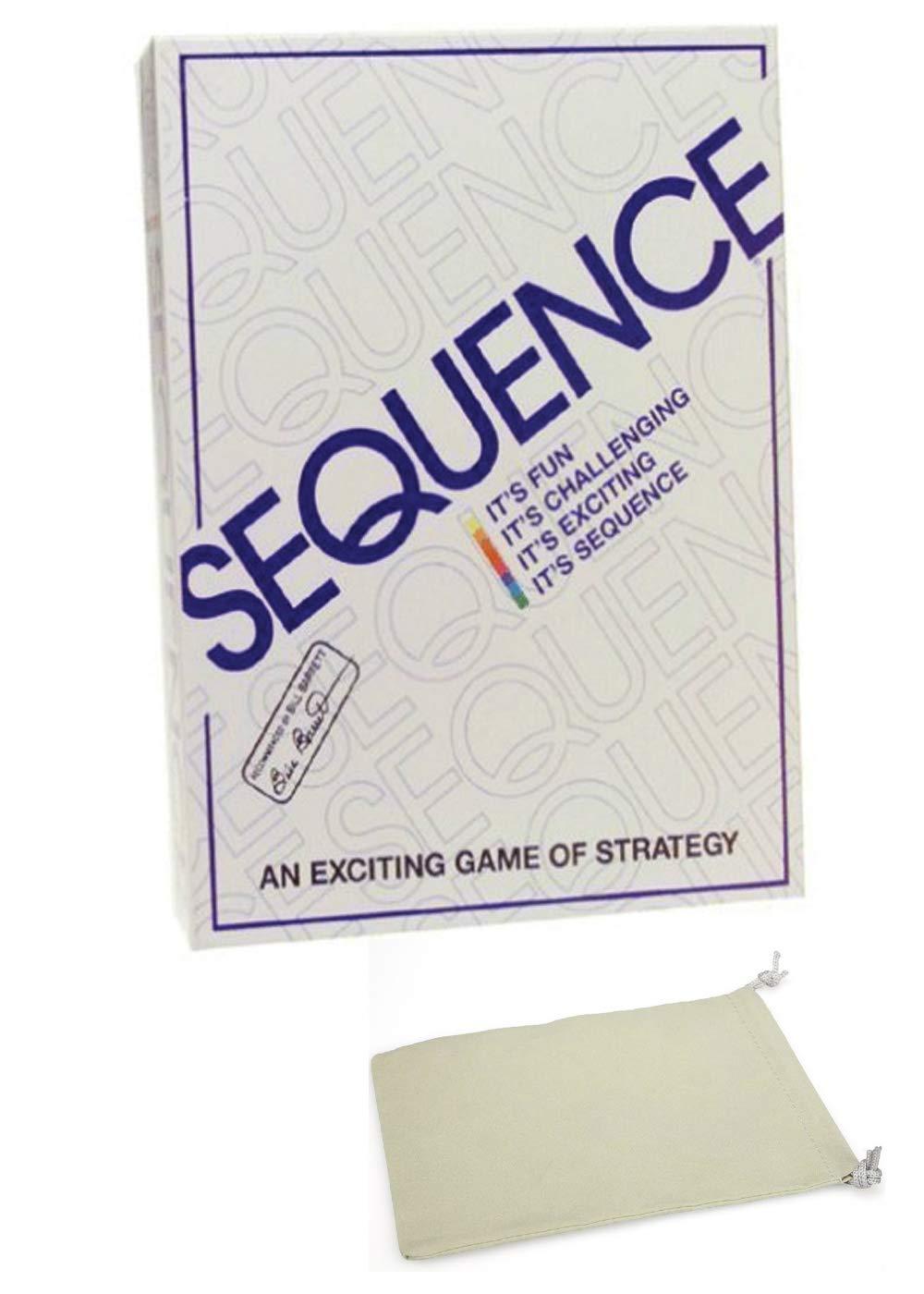 Juego de Mesa Sequence con Bolsa con cordón: Amazon.es: Juguetes y ...