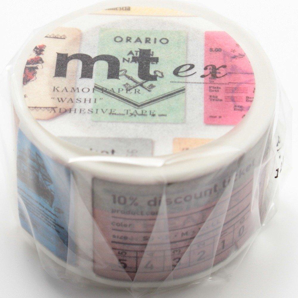 Mt Washi Masking Tape Ex Ticket (MTEX1P77)