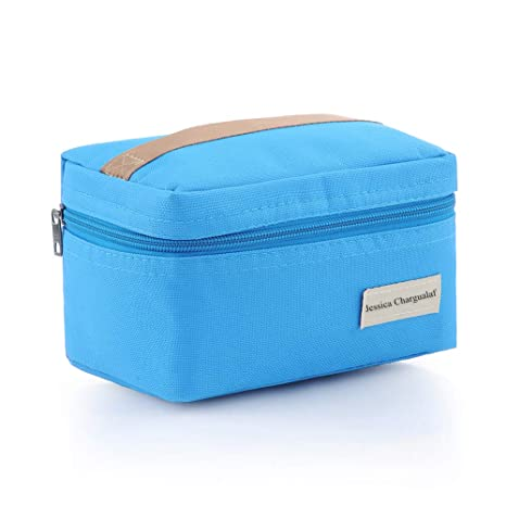 Amazon.com: Mini bolsa de almuerzo portátil con aislamiento ...