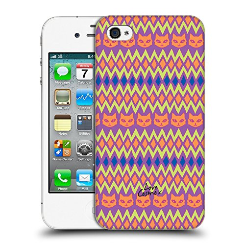 Official Cosmopolitan Lovey Aztec Brights Hard Back Case for Apple iPhone 4 / 4S