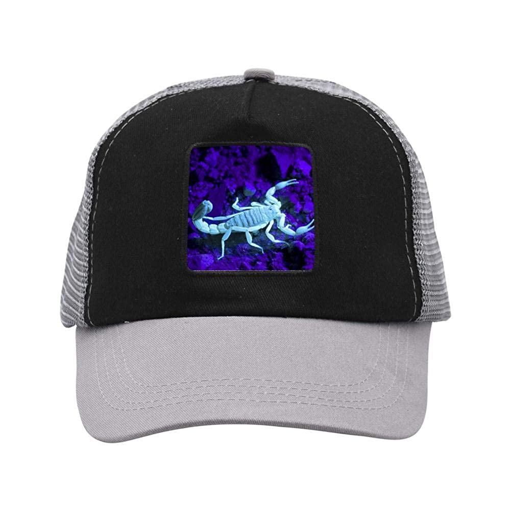 Scorpions Mesh Caps Adjustable Unisex Snapback Trucker Cap