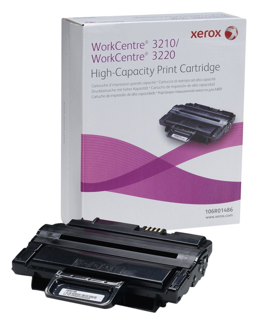XEROX 3210 TONR CART HICAP BLK 106R01486 B007MOJ652