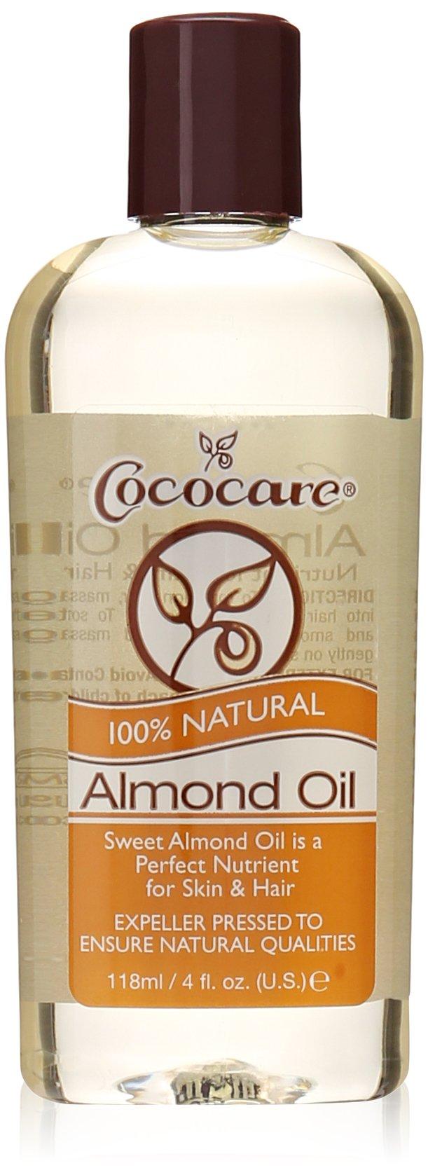 Cococare Natural Oil, Almond, 4 Ounce