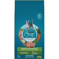 Purina ONE Indoor Natural Dry Cat Food; Turkey Formula - 3 kg Bag
