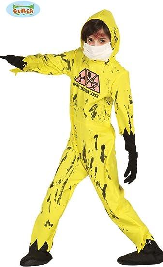 Nuclear Zombie Disfraz Para Niños (Tallas 98 – 146: Amazon.es ...