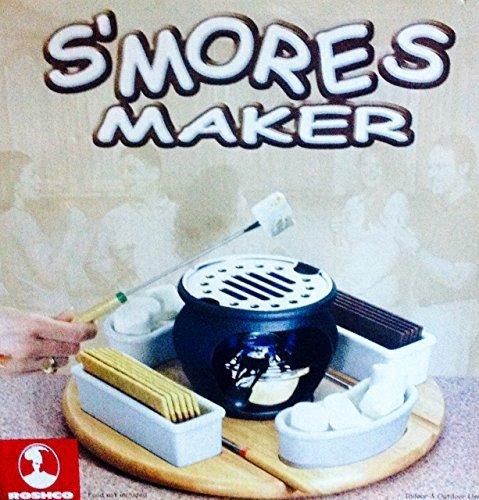 ROSHCO SMORES MAKER, INDOOR OR OUTDOOR/ Model CM10402 (Casa Moda Indoor Outdoor S Mores Maker)