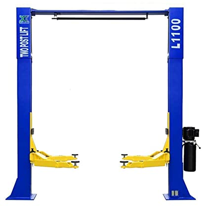 xk 10,000lbs car lift l1100 2 post lift car auto truck hoist 12 month warranty Lift Pump Diagram