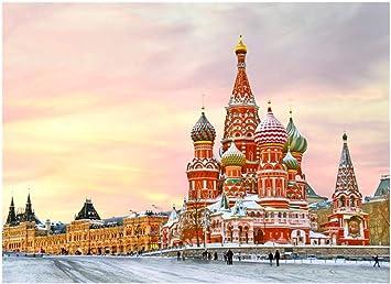 Puzzle El mundialmente Famoso Edificio de Rompecabezas - San Petersburgo 500-5000 -Cada Pieza Pieza es única, Piezas encajan Perfectamente (Size : 4000pcs) : Amazon.es: Juguetes y juegos