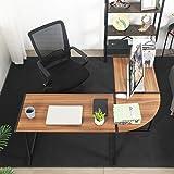 GreenForest L Shaped Corner Desk for Home Office