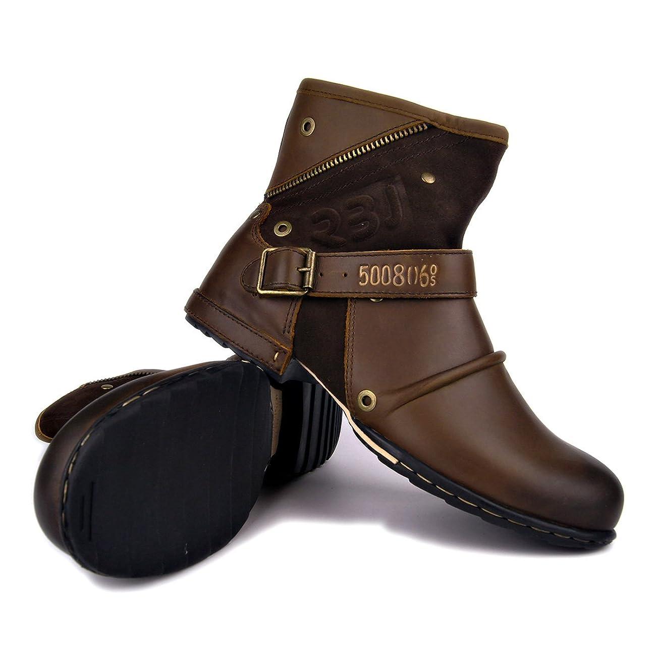 画面ルーム海外でalohapi SWAT タクティカル ブーツ サイド ジッパー 式 ミリタリー ブーツ ジャングル ブーツ