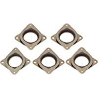 5pcs NEMA 17 Steel & Rubber Stepper Motor Spacer Damper Vibration Shock Absorber Pad Washer for CNC, 3D Printer