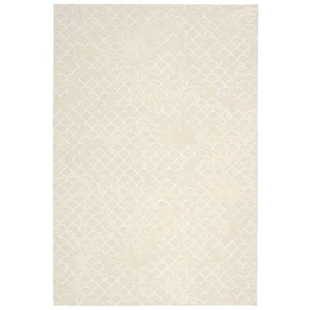 Nourison Escalade (ESC12) Spa Rectangle Area Rug, 5-Feet by 7-Feet 6-Inches (5' x 7'6'')