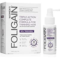 FOLIGAIN Hair Regrowth Treatment for Women with 10%