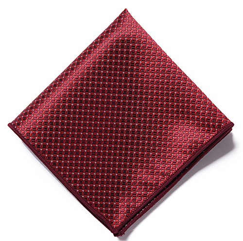 AUSKY 4 Pack Elegant Adjustable Pre-Tied Bow Tie Pocket Square Handkerchief set for Men Boys (4 PACKS A) by Ausky (Image #8)