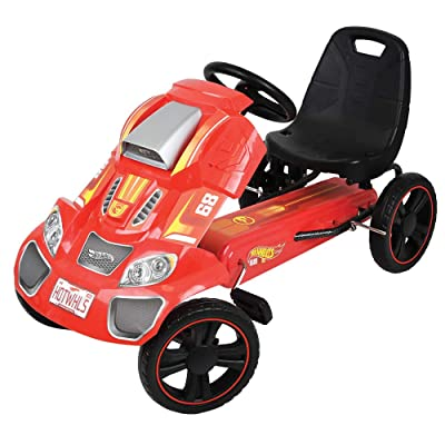 Hot Wheels Speedster Go Kart, Red: Toys & Games