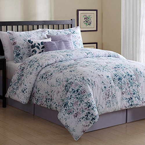 Ellison 7 Piece Value Petra Comforter Set, Queen