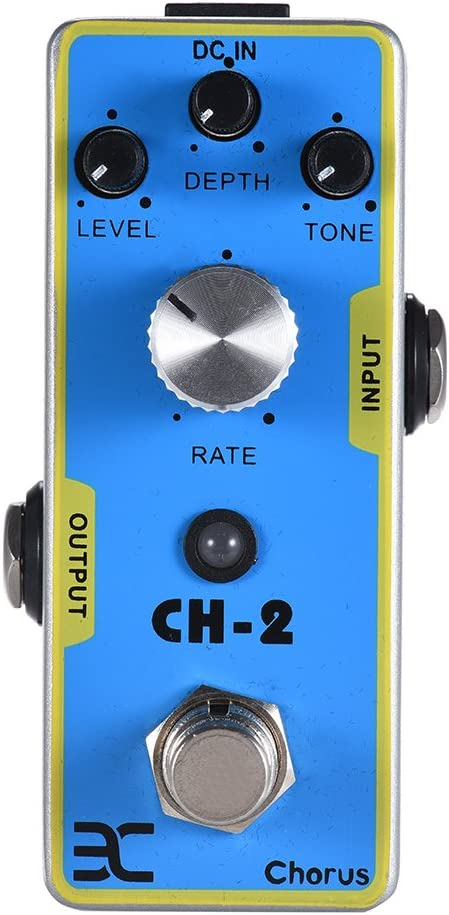 CH-2 Chorus Pedal de Guitarra Guitarra eléctrica Pedal de Efecto ...