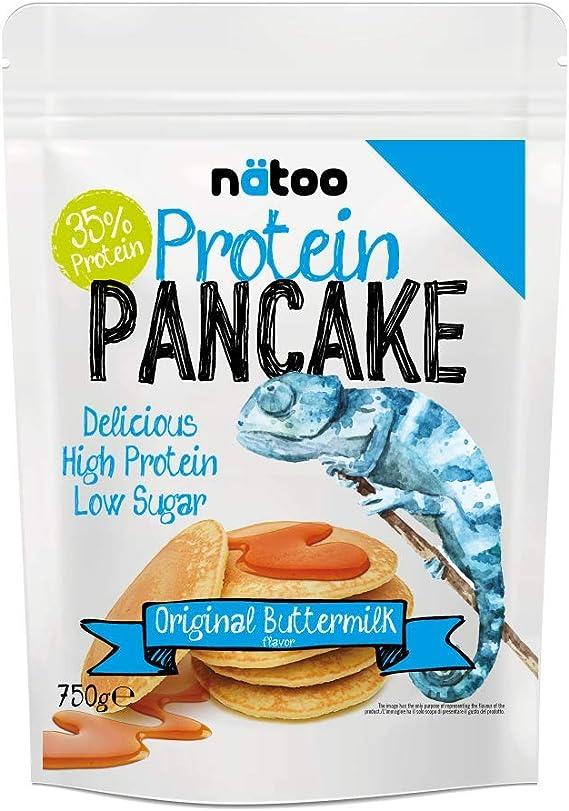 NATOO Protein Pancake 750 gr: Amazon.es: Salud y cuidado personal