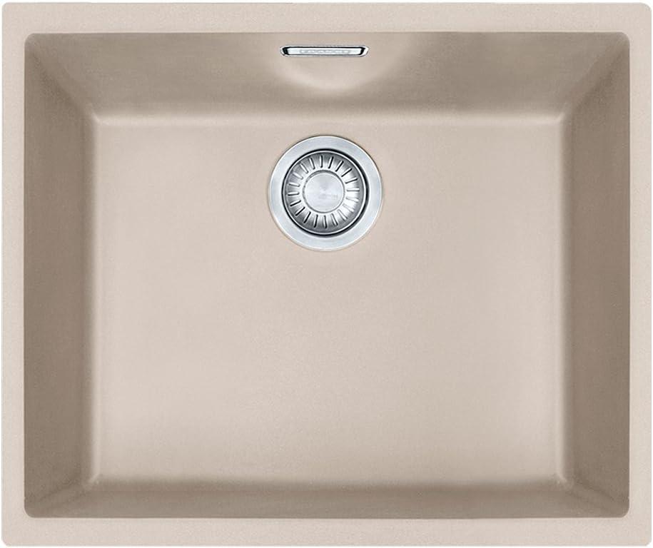 Franke Sirius SID 110-50 Black Onyx Tectonite Undermout 1.0 Bowl Kitchen Sink