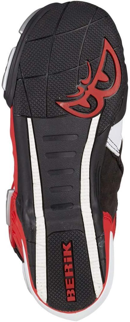 Berik Race-X Racing Stivali da moto 37 Blu//Bianco//Nero
