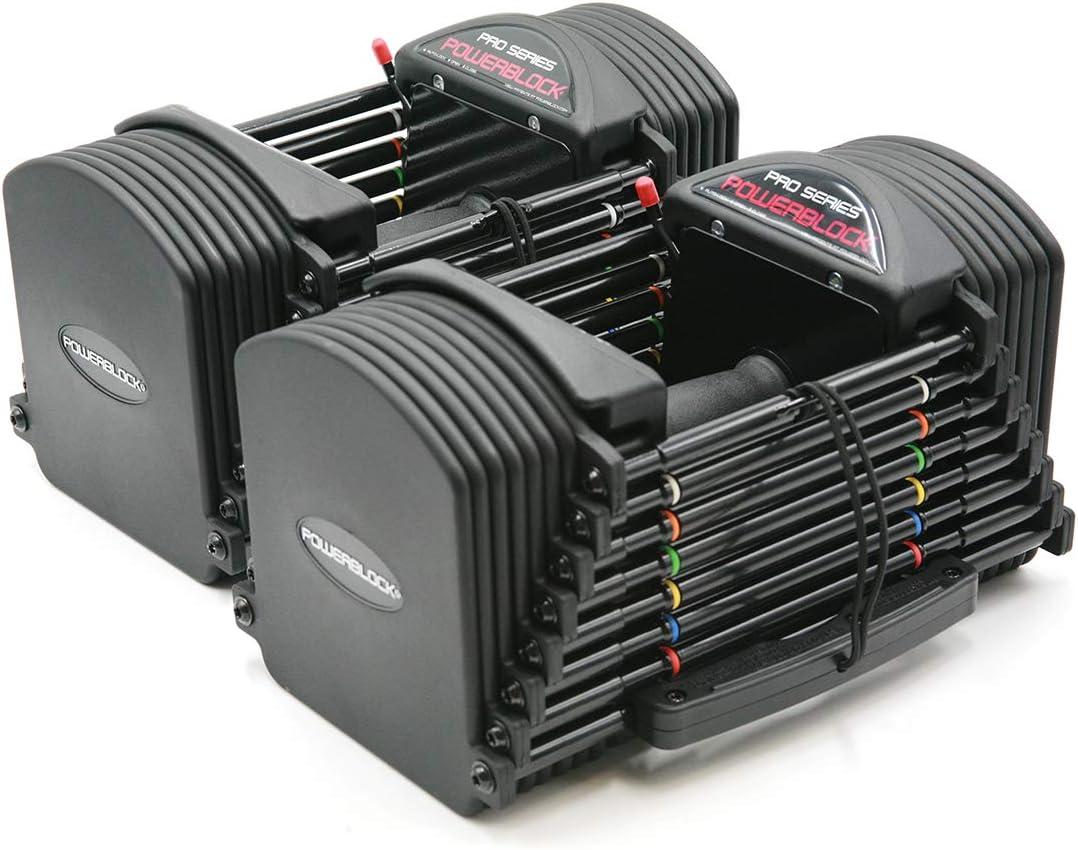 Amazon   Power Block Pro 50 調節可能なダンベル   Power Block   ダンベル・アレー