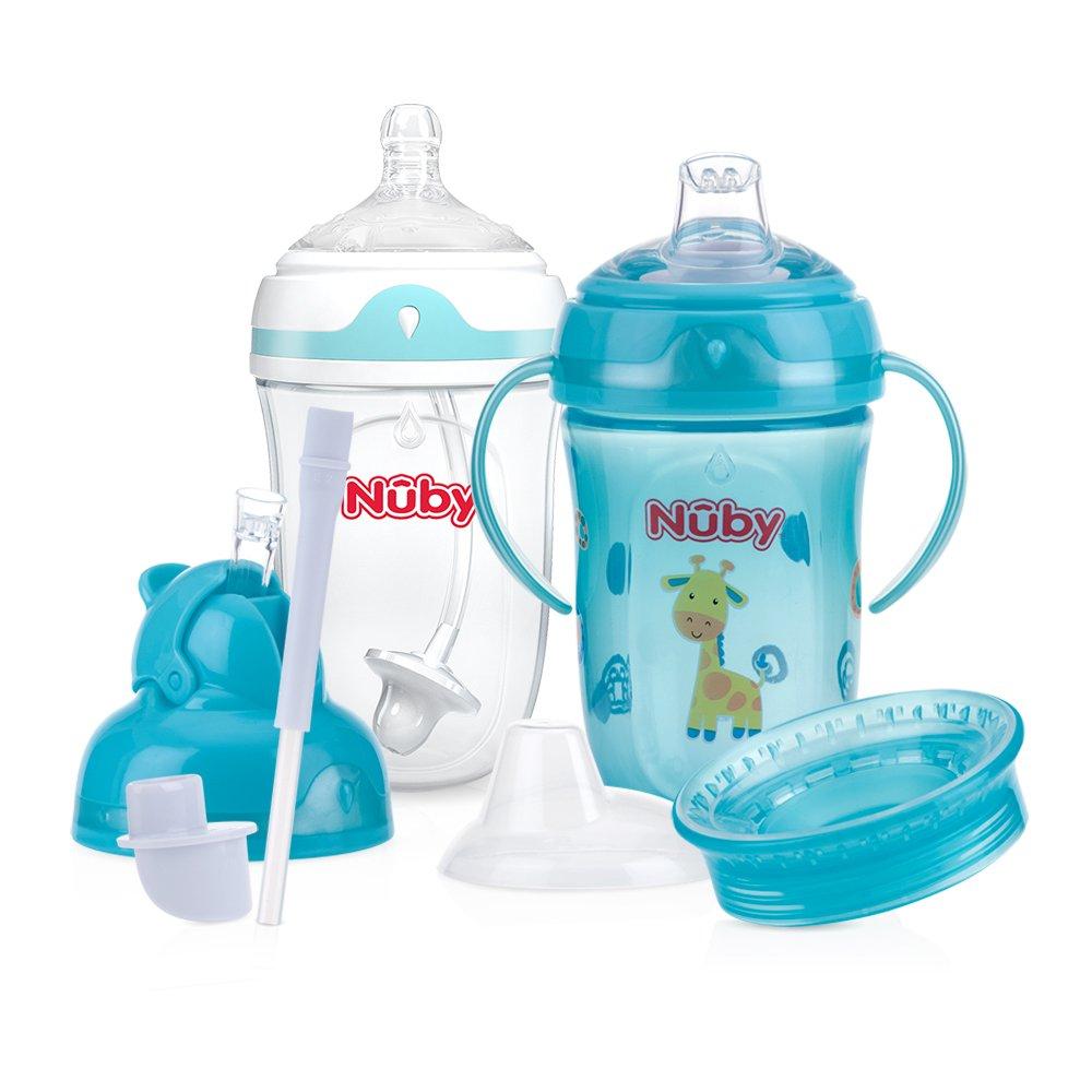 Nuby 6 Stage 360 Comfort Cup Starter Set 52007