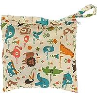 Bolsa de pañales de tela de bebé