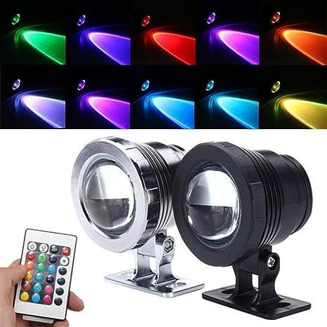 Luces led 10W RGB LED piscina de la fuente de la charca Proyector ...
