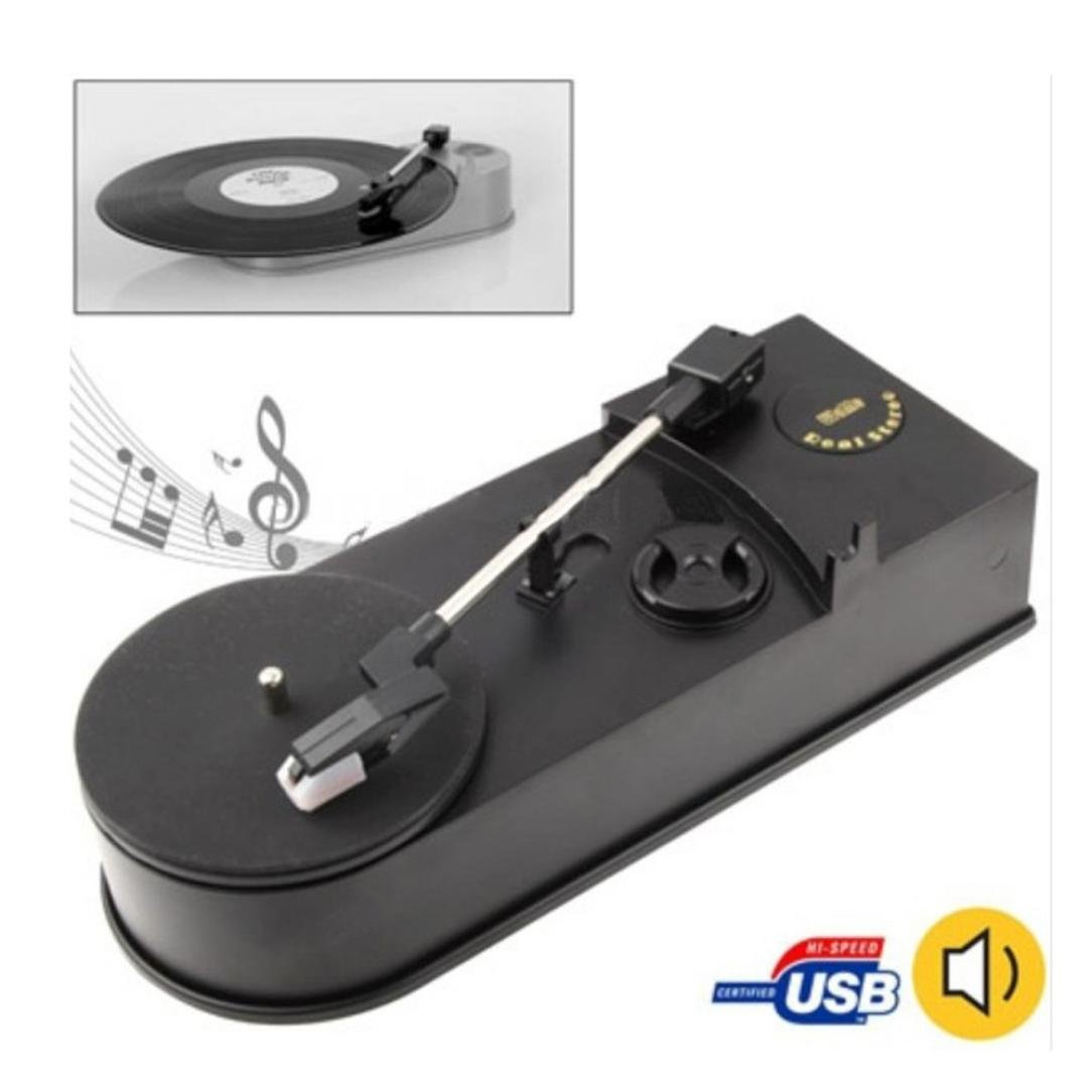 Oyedens USB estilo Retro Tocadiscos LP de Vinilo a MP3 CD WAV PC ...
