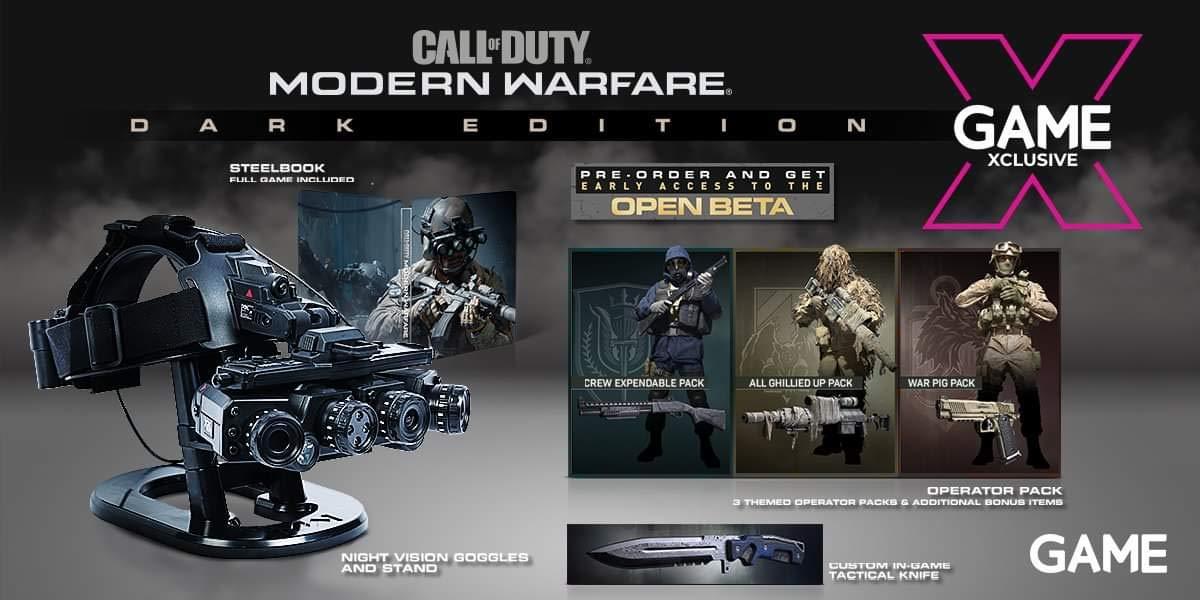 Call of Duty: Modern Warfare - Dark Edition-Collectors Edition - [PS4]: Amazon.es: Industria, empresas y ciencia