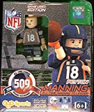 Peyton Manning 509 Touchdowns All Time Leader Special Orange Glove Limited Edition of 509 Oyo Mini Figure Denver Broncos NFL