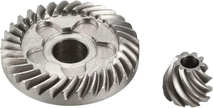 sourcingmap Amoladora De /Ángulo Conjunto De Engranajes C/ónicos Espiral para Bosch GWS 6-100